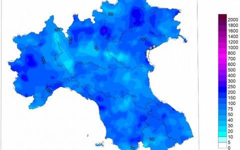 Analisi delle piogge di luglio